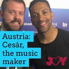 Austria: Cesár, the music maker