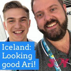 Iceland: Looking Good Ari!