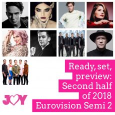 Eurovision 2018: Previewing the second half of Semi Final 2