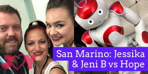 San Marino: Jessika & Jeni B vs Hope
