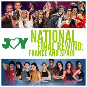 Rewinding Operación Triunfo - Eurovision Gala: Spain | JOY