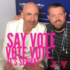 Say vote vote vote: It's Serhat