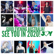 Good evening Australia! See you in the Netherlands next year!