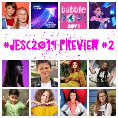 #ShareTheJOY: Previewing Junior Eurovision 2019 (Part 2)