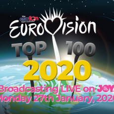 Eurovision Top 100 2020: #100 to #86