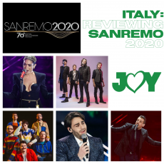 Get your Italian womp on: Reviewing Sanremo 2020