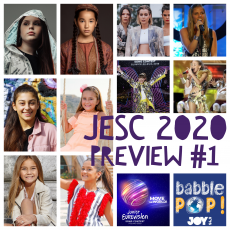 Move the World: Previewing Junior Eurovision 2020 (Part 1)