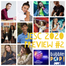 Move the World More: Previewing Junior Eurovision 2020 (Part 2)
