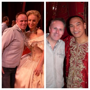 Leo with Lisa McCune and Jason Scott Lee