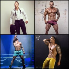 Personal Trainer, Model, Underwear, Swimwear & Male Stripper Ash Edelman.