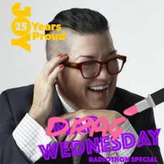Lea DeLaria LIVE on DRAG WEDNESDAY for RADIOTHON!