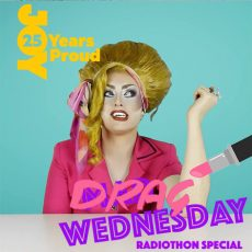 LAZY SUSAN joins in the DRAG WEDNESDAY fun as we share our JOY stories!
