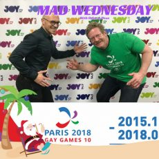 We chat to Michael and Chris about the Gay Games Paris 2018!