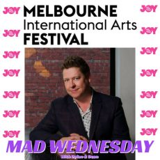 MIAF Artistic Director JONATHAN HOLLOWAY drops by for a chat!