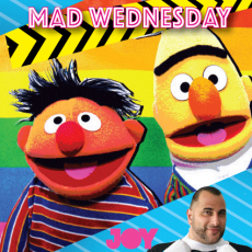 Bert & Earnie, coming out of the closet or just good friends?
