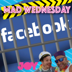 Dean gets locked in facebook jail – what will he do now?