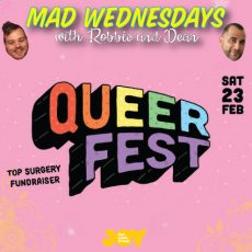 Top Surgery Fundraiser QUEERfest is coming!