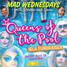 Get ready for a fab IGLA2020 fundraiser with Queens of the Pool
