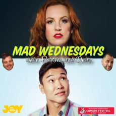 It's a queer comedy orgy with Catherine Bohart & Joel Kim Booster