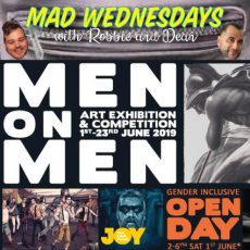 Celebrating masculinity, Men on Men Art Exhibition returns