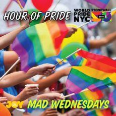 An Hour of Pride, celebrating WorldPride #Stonewall50