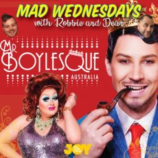 Mr Boylesque Australia Finals with Leasa Mann