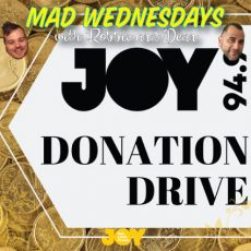 Help keep JOY out, loud & proud this Donation Drive