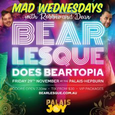 Bearlesque comes to Daylesford