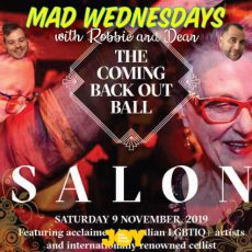 The Coming Back Out Salon is coming, grab your ticket!