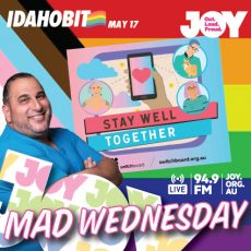 Staying Well Together with Switchboard this IDAHOBIT