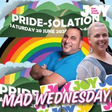 Regional Pride goes virtual this Saturday with PRIDE-SOLATION