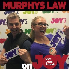 INTERVIEW: Tom Gleeson joins the Murphys for some Hard Chat