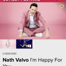 INTERVIEW: Nath Valvo tells us why he is Happy for you! Melbourne Comedy Festival