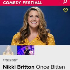 INTERVIEW: Nikki Britton tells the Murphys why you shouldn't eat that apple!