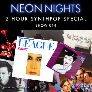 Show 014 / 2 Hour Synthpop Special