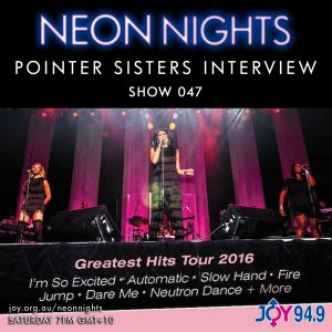 Show 047 / Pointer Sisters Interview