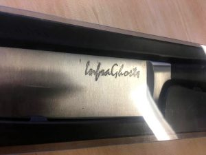 But wait there's more! Listen to Infraghosts and we include this lovely steak knife.