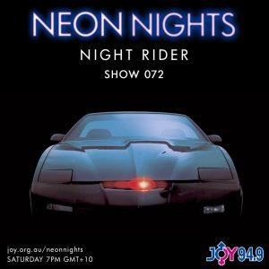 Show 072 / Night Rider