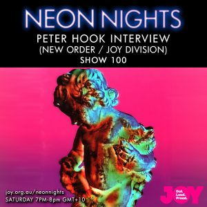 Show 100 / Peter Hook Interview – Part 1