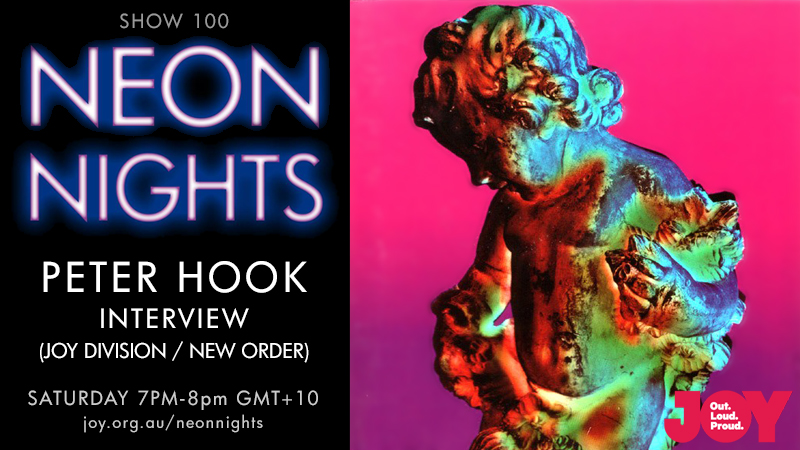 Neon Nights - Hootsuite - 100 - Peter Hook Interview Part 1