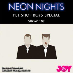 Neon Nights - 102 - Pet Shop Boys Special