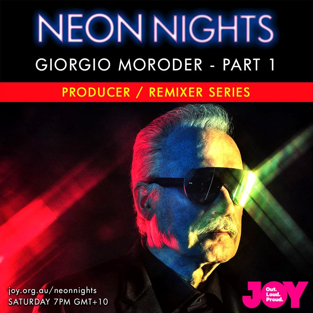 Neon Nights - 143 - Giorgio Moroder - Part One