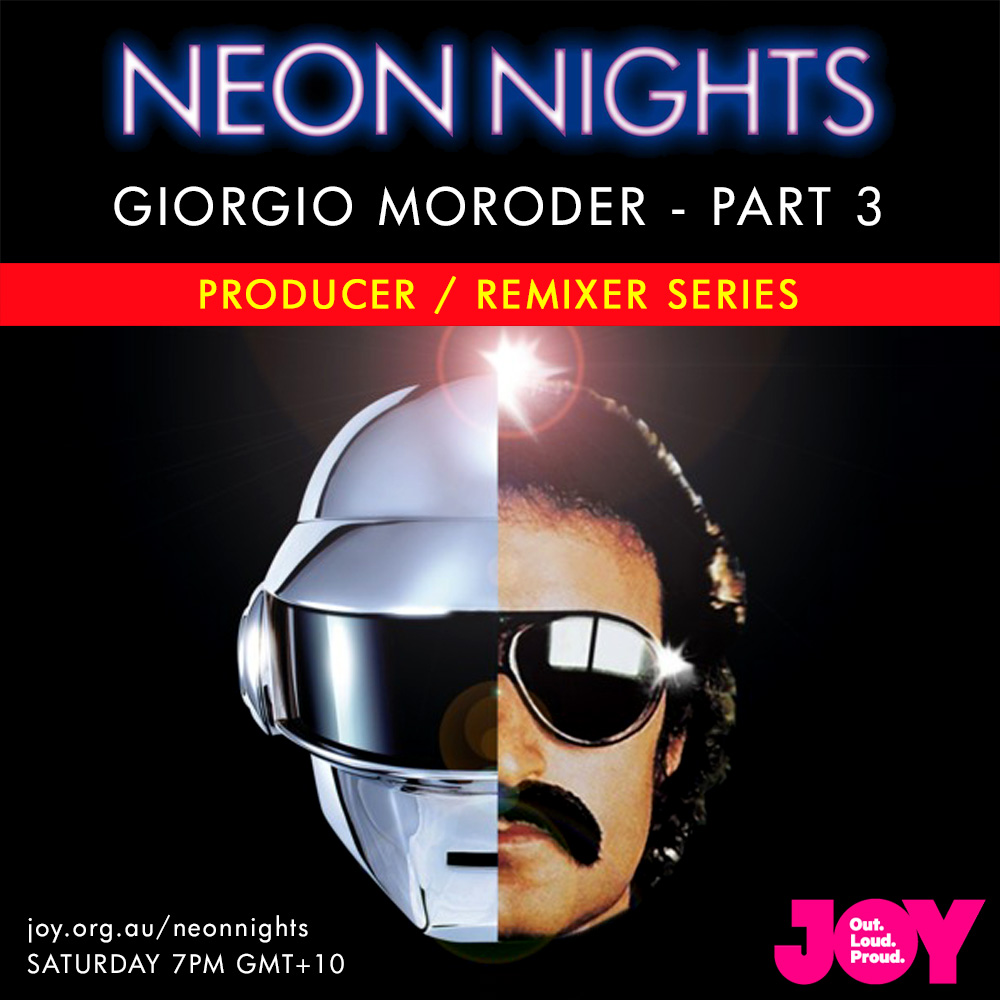Neon Nights - 143 - Giorgio Moroder - Part Three