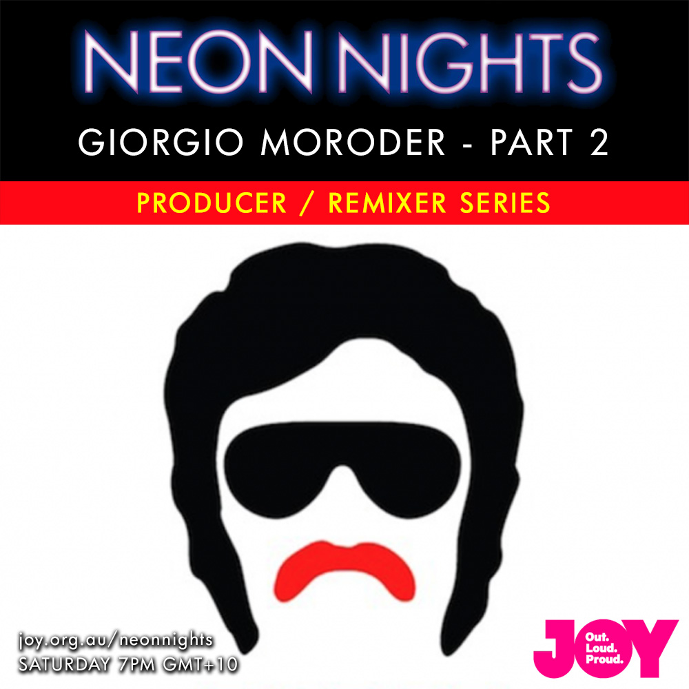 Neon Nights - 143 - Giorgio Moroder - Part Two