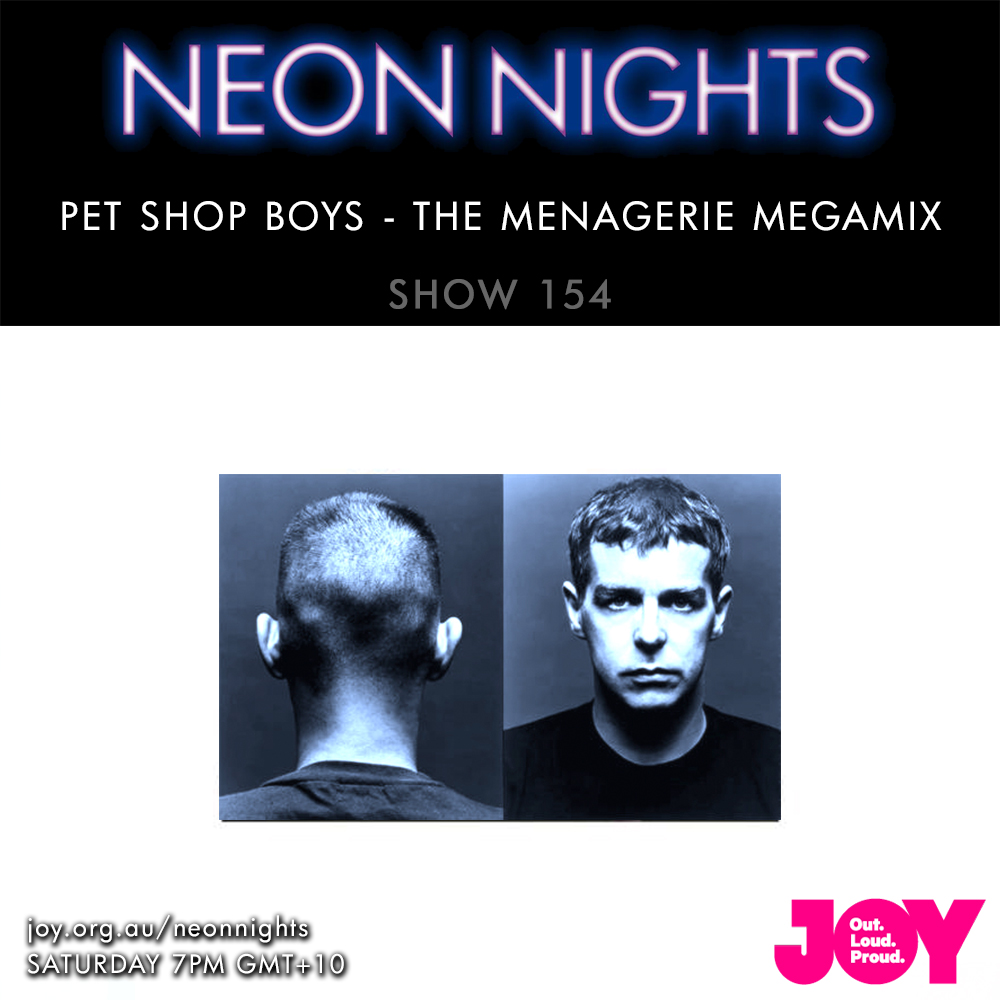 Show 154 / Pet Shop Boys – The Menagerie Megamix