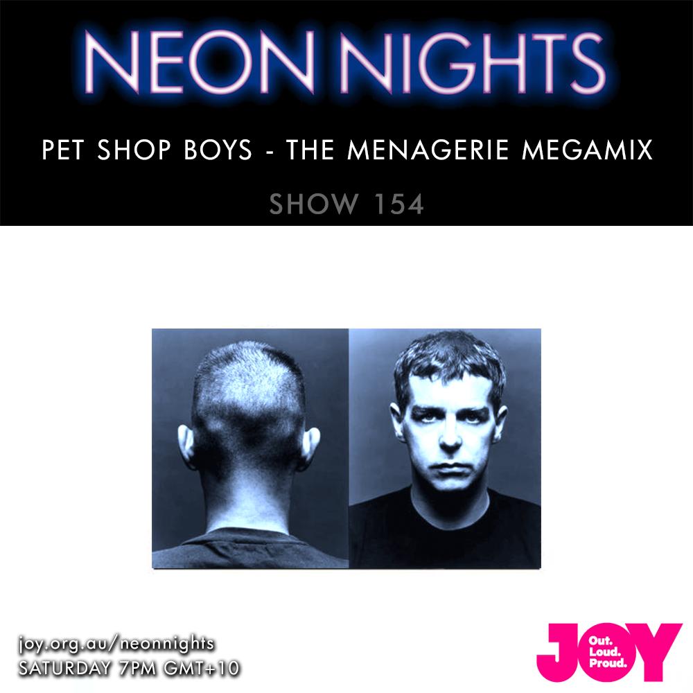 Neon Nights - 154 - PSB Megamix 01 - Menagerie Megamix