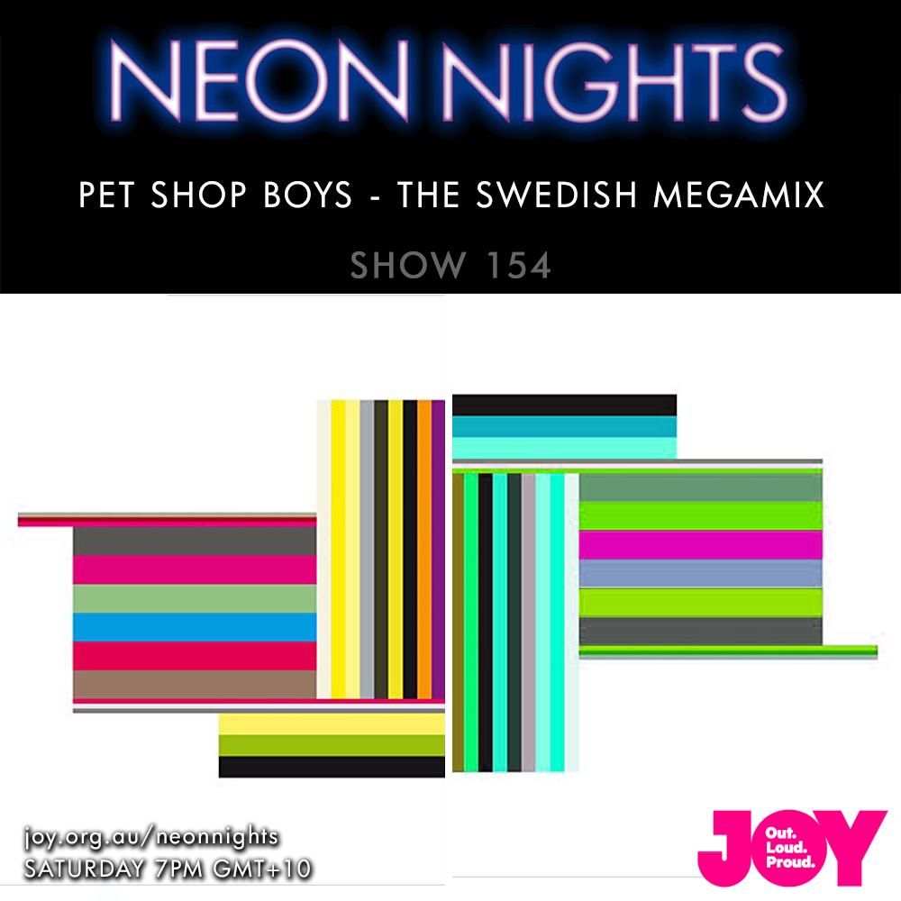 Neon Nights - 154 - PSB Megamix 03 Swedish Megamix