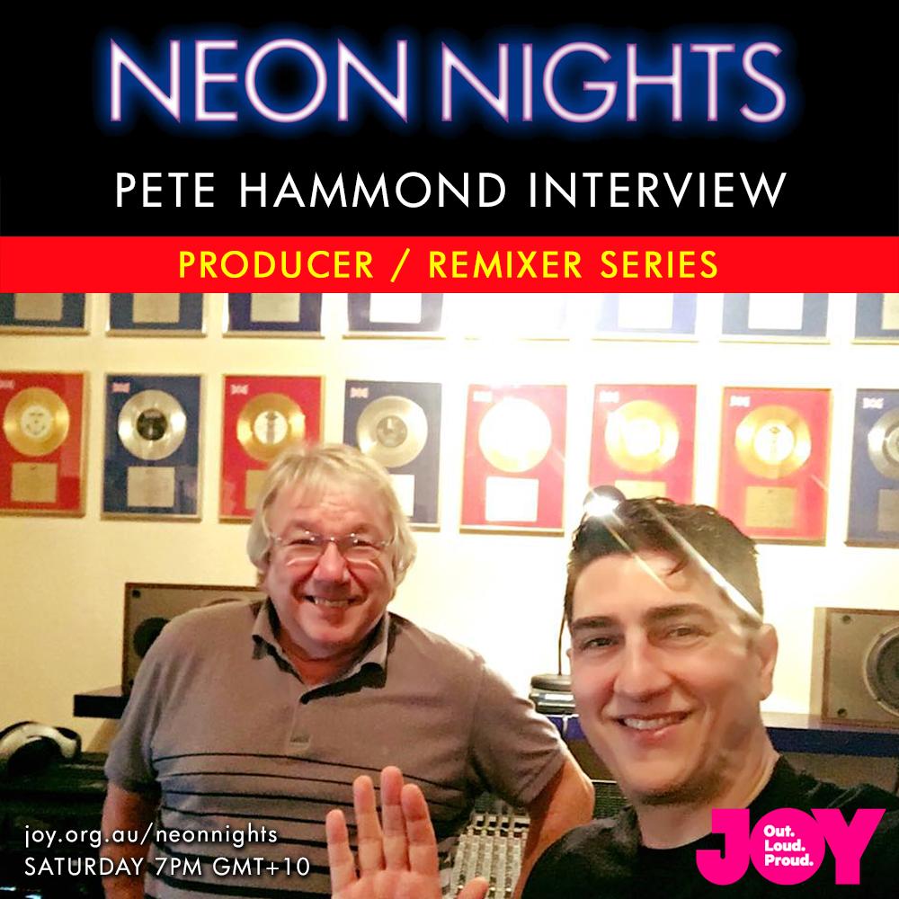 Neon Nights - 155 - Pete Hammond Interview