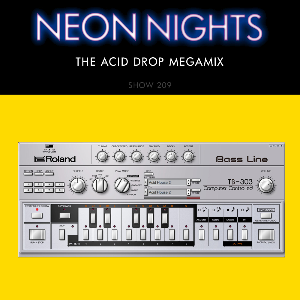 Show 209 – The Acid Drop Megamix