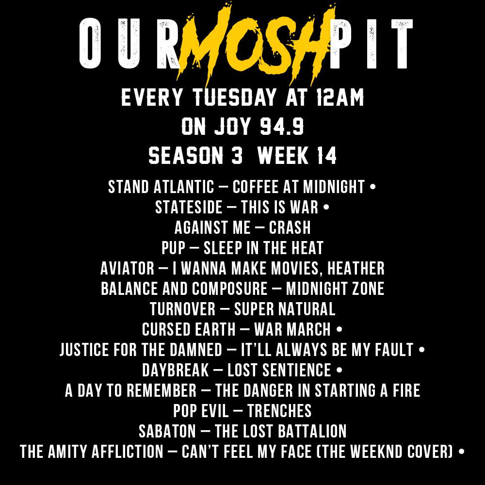 Our Mosh Pit – Season 3 Week 14 Podcast